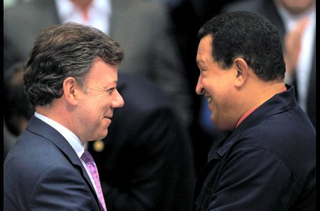 Juan Manuel Santos y Hugo Chávez se reunirían en Cartagena.
