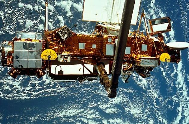 El satélite estadounidense Upper Atmosphere Research Satellite