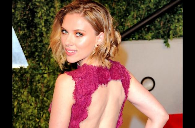 Ciberpiratas publicaron fotos de Scarlett Johansson semidesnuda.