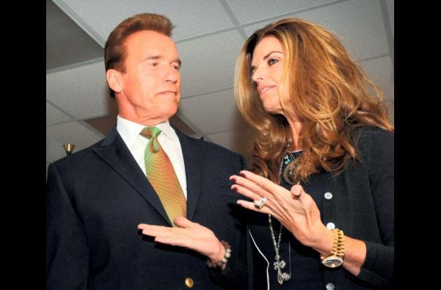 Schwarzenegger y Maria Shriver se separan tras 25 años de unión.
