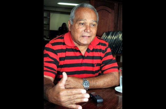 Luis Nicasio Díaz Ramírez, Tesorero Fedesóftbol.