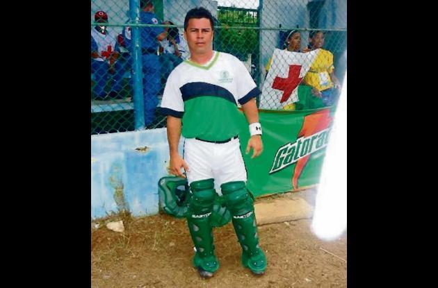 Marco Reyes Ospina, coordinador e instructor de la Escuela Béisbol Comfasucre.