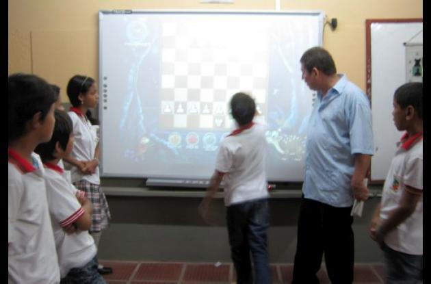 I.E. José Ignacio López  están motivados con el ajedrez pedagógico