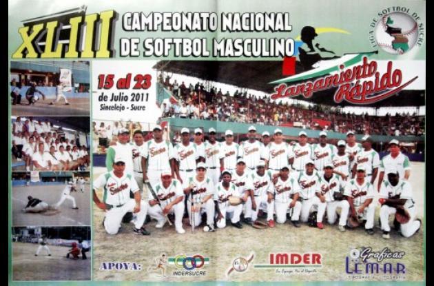 Afiche promocional del certamen deportivo