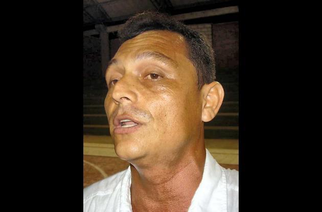 Alfredo Tovar, técnico Selección Sucre Sub 22.
