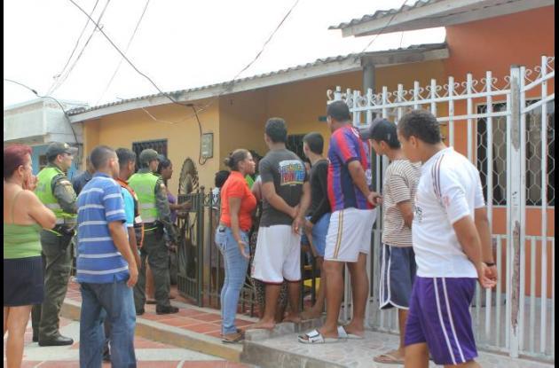 Violador en Barranquilla.