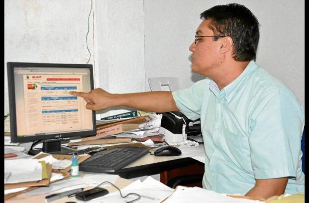 Tarcisio Pérez Mercado, secretario de Tránsito y Transporte de Corozal.