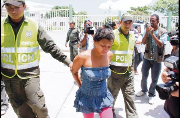 Leidy Katherine Ibarra Morales, de 31 años, tendrá que responder por el delito d