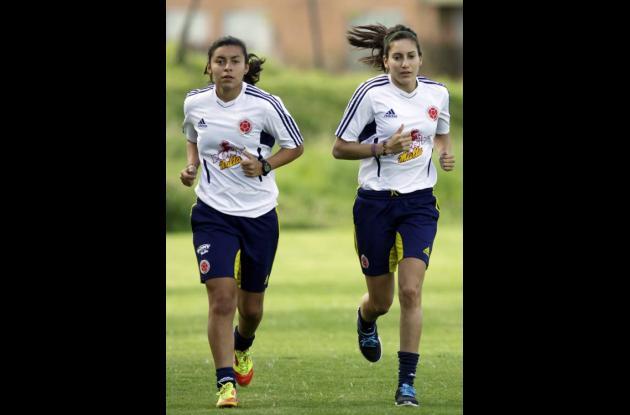La Selección Colombia Femenina de Fútbol está en prácticas oficiales previas a l