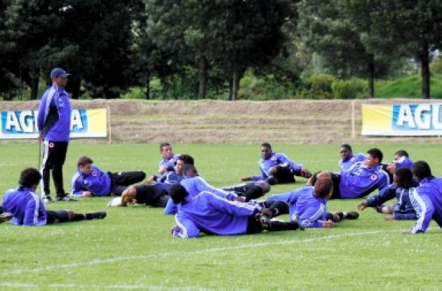 Selección Colombia Sub 20 se concentra en Bogotá.