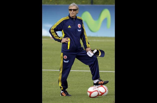 José Pékerman, director técnico de la Selección Colombia.