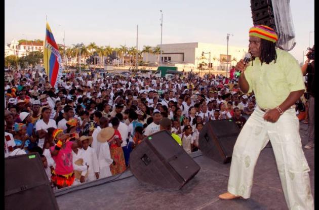 Concierto de la Semana de la Afrocolombianidad 2011.