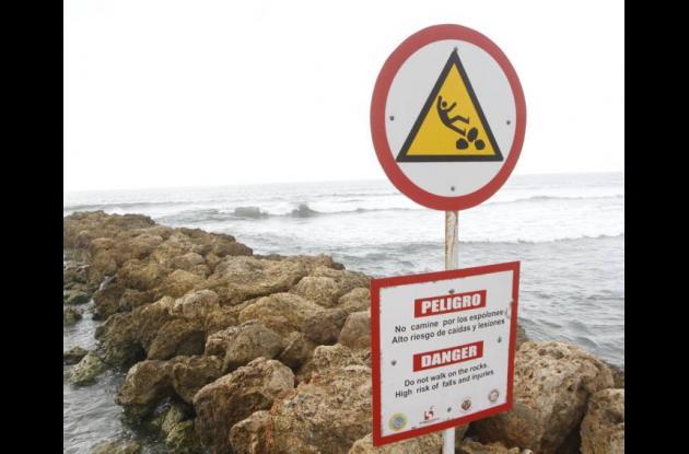 Fallas en la señalización de las playas