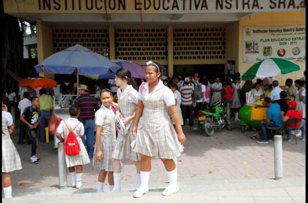 Imagen archivo de la Institución Educativa Nuestra Señora del Carmen.