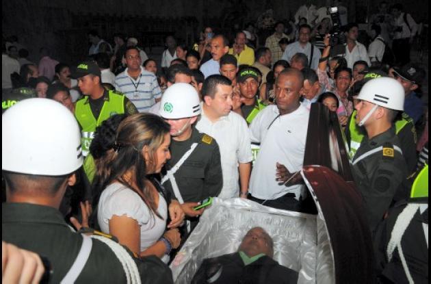 El sepelio de Joe Arroyo será hoy en Barranquilla.