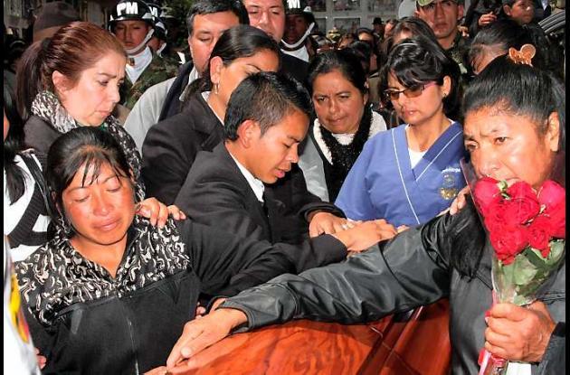 Johan Stiven Martínez, convertido en símbolo del dolor que ocasionan las Farc.