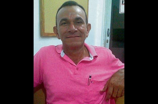 Isaac León Herazo, docente.
