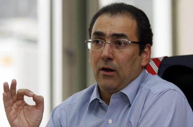 Sergio Díaz-Granados, ministro de Comercio
