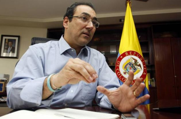 Sergio Díaz-Granados, ministro de Comercio, Industria y Turismo
