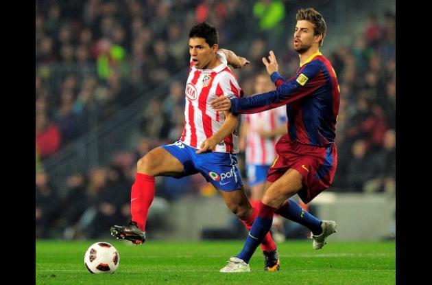 Sergio Aguero aseguró que se irá del Atlético de Madrid.