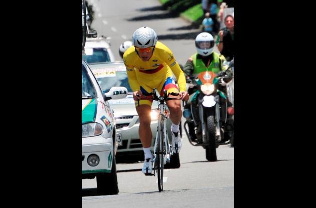 Sergio Luis Henao, campeón 2010, es favorito para ganar la Vuelta a Colombia