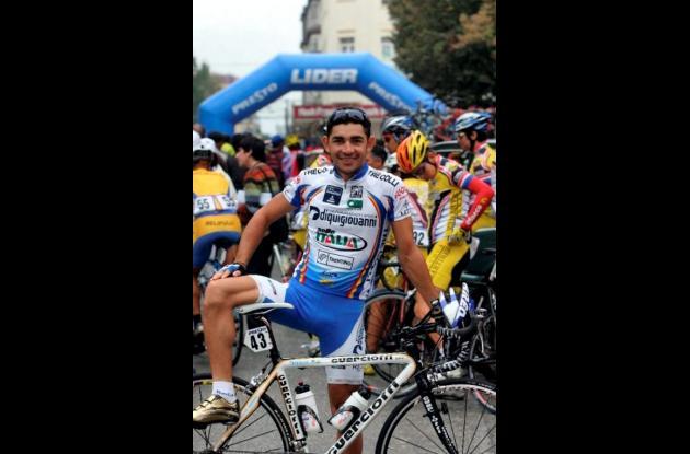 José Serpa, ciclista de Colombia.