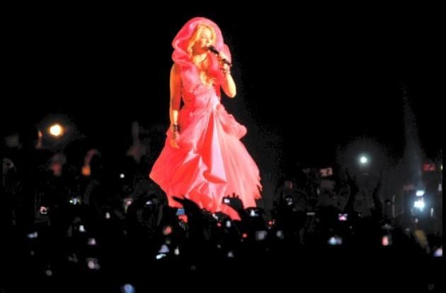 Shakira en Guatemala.