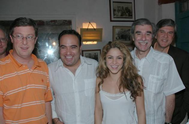 Shakira se suma a la lista de personalidades.