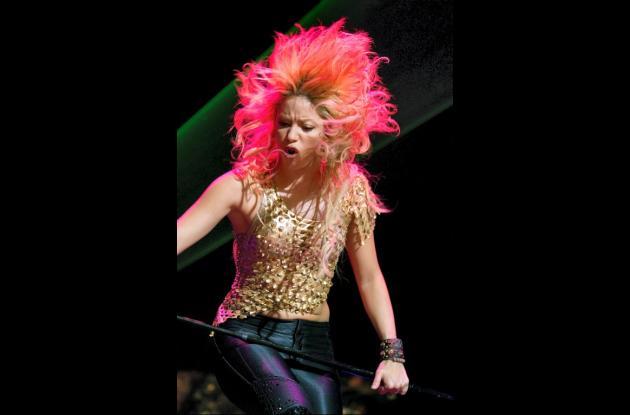 Shakira en París.