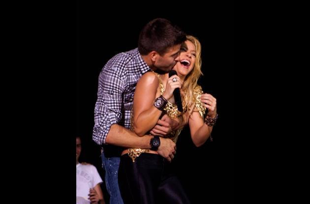 Shakira y Piqué hicieron público su romance hace un año.