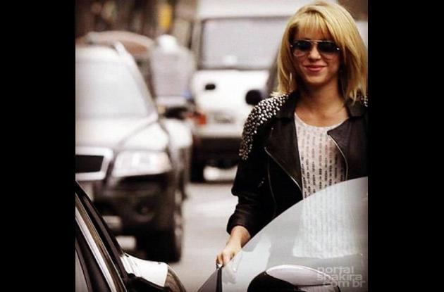 Shakira, deslumbrante en Barcelona