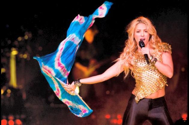 Shakira en una presentación.