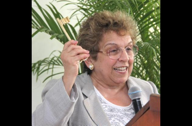 Donna Shalala, presidente de la Universidad de Miami
