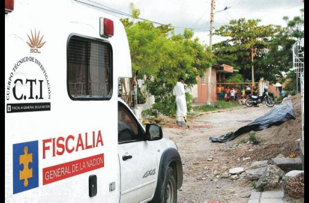 El crimen del tramitador aduanero ocurrió ayer, a las 5 de la tarde, en el barri