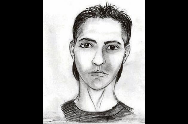 Retrato hablado del sicario que asesinó a Humphries.