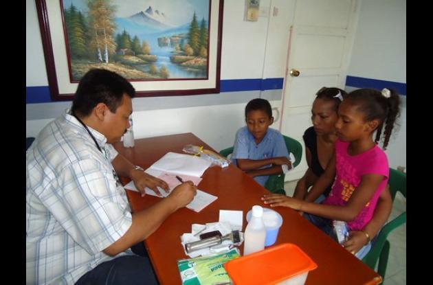 Varias instituciones se unen para sembrar salud en Los Montes de María.