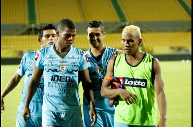 Luis Sierra y Alex Anaya volverían a la formación titular del Real Cartagena.