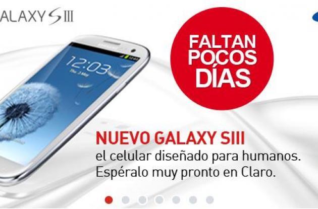 Claro Colombia también ofrecerá Samsung Galaxy SIII