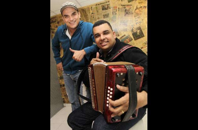 Silvestre Dangond y Rolando Ochoa.