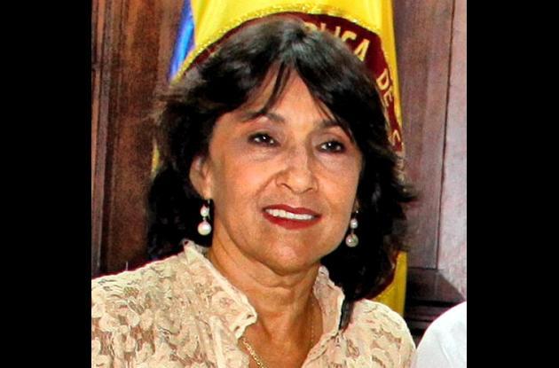 Silvana Giaimo, exviceministra de Minas y Energía.