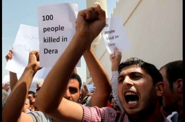 Siria: más de 100 muertos en protestas.
