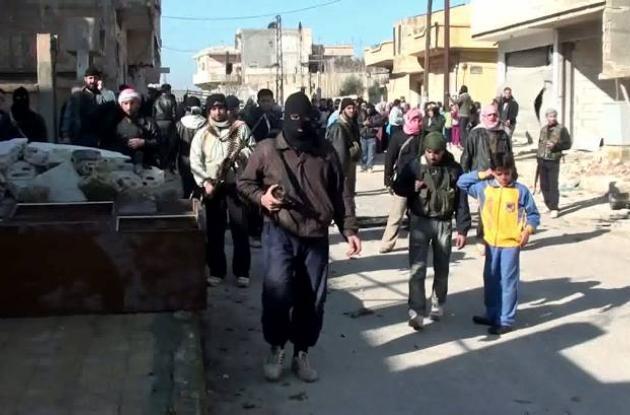 Violencia en Siria.