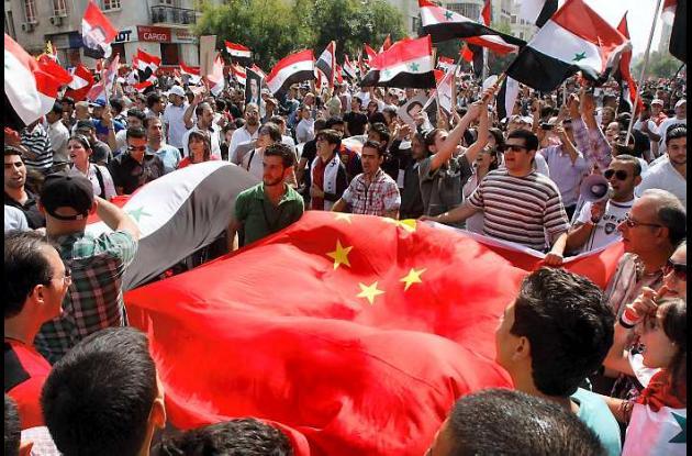 Enfrentamientos en Siria