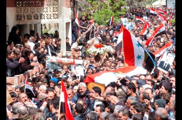 Manifestaciones en Siria.