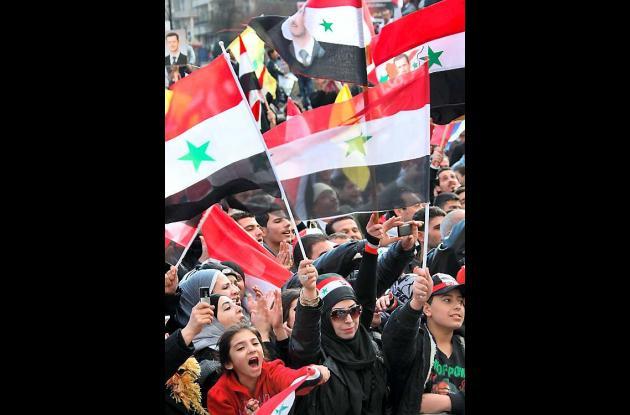 Represión en Siria