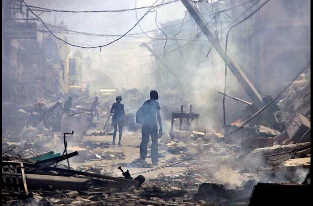 Imágenes de Haití después del devastador sismo del 12 de enero del año pasado.