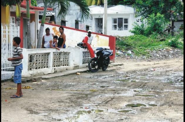 En el sector Rincón Guapo, en el barrio Ternera terminó la persecución que inici