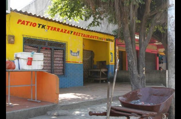 En este lugar, el Patio Tk, Terraza y Estadero Donde la Mona, en el barrio La Ca