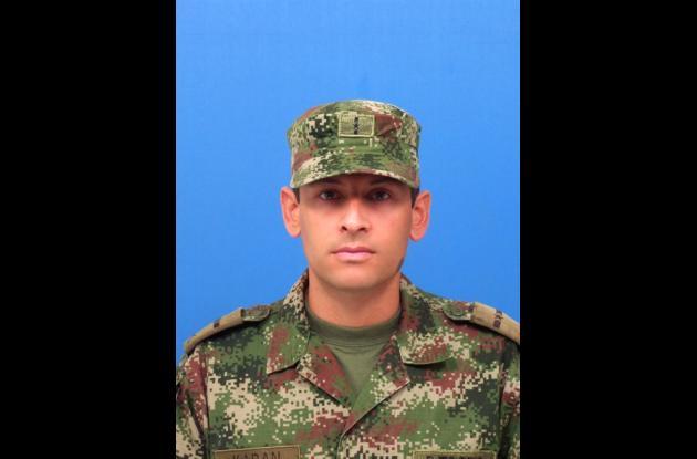 Mayor Cesar Karan, comandante del Distrito Militar número 11.