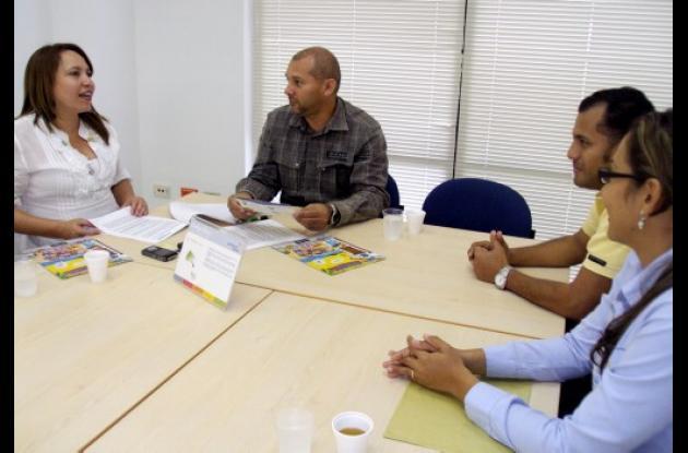 alcaldes de Los Palmitos y Tolú